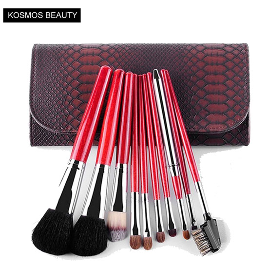 K10070 10 PCS Pink Makeup Brush Set