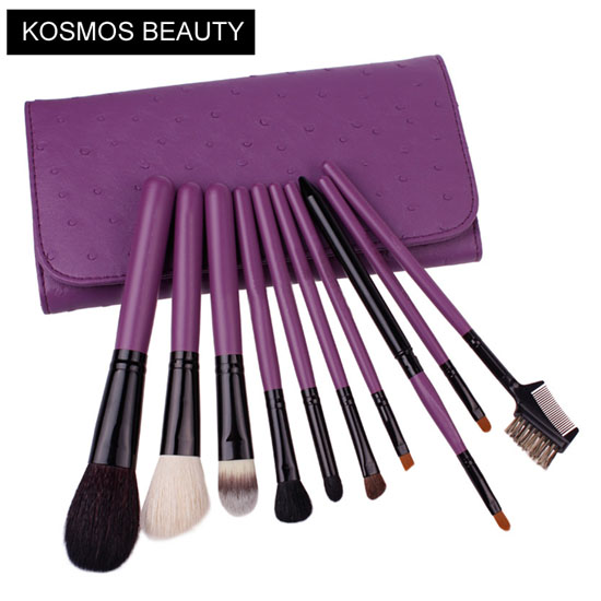 K10073 10 PCS Purple Makeup Brush Set