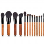 K10062 14PCS Varnished Makeup Brushes Set