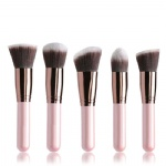 K10063 5 PCS Pink Makeup Brush Set